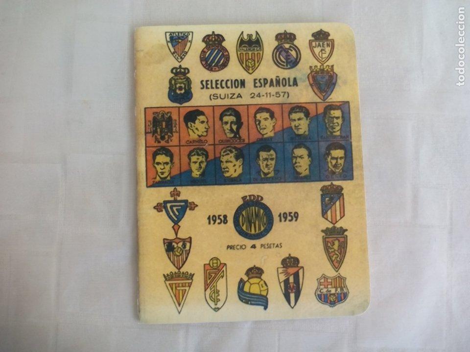 SELECCIÓN ESPAÑOLA. FUTBOL SUIZA 24-11-57. 1958 1959. ANUARIO DINAMICO REEDICION (Coleccionismo Deportivo - Libros de Fútbol)
