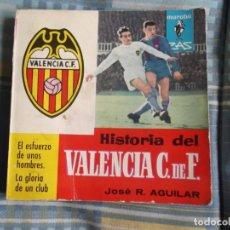Coleccionismo deportivo: HISTORIA DEL VALENCIA 1963. Lote 176404844