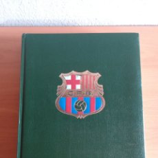 Coleccionismo deportivo: HISTORIA DEL C.F. BARCELONA - EDITORIAL LGEV GRAN ENCICLOPEDIA VASCA - FÚTBOL CULÉ BARÇA - AÑO 1971. Lote 176450097