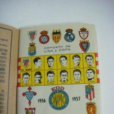 Coleccionismo deportivo: LIBRILLO CALENDARIO DE FUTBOL DINAMICO TEMPORADA-1956-1957. Lote 176512655