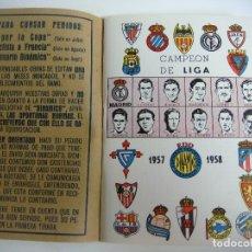 Coleccionismo deportivo: LIBRILLO CALENDARIO DE FUTBOL DINAMICO TEMPORADA-1957-1958. Lote 176512834