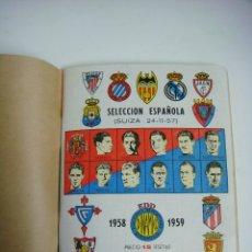 Coleccionismo deportivo: LIBRILLO CALENDARIO DE FUTBOL DINAMICO TEMPORADA-1958-1959. Lote 176513065
