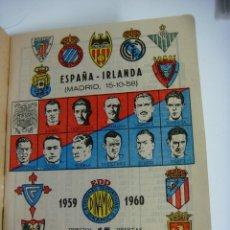 Coleccionismo deportivo: LIBRILLO CALENDARIO DE FUTBOL DINAMICO TEMPORADA-1959-1960. Lote 176513179
