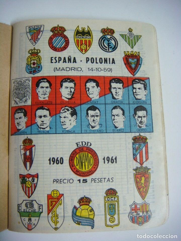 LIBRILLO CALENDARIO DE FUTBOL DINAMICO TEMPORADA-1960-1961 (Coleccionismo Deportivo - Libros de Fútbol)