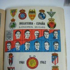 Coleccionismo deportivo: LIBRILLO CALENDARIO DE FUTBOL DINAMICO TEMPORADA-1961-1962. Lote 176513475