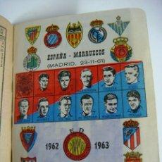 Coleccionismo deportivo: LIBRILLO CALENDARIO DE FUTBOL DINAMICO TEMPORADA-1962-1963. Lote 176513555