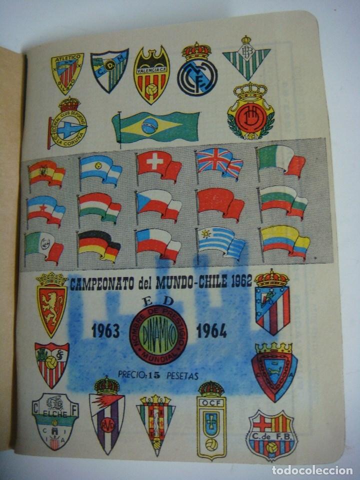 LIBRILLO CALENDARIO DE FUTBOL DINAMICO TEMPORADA-1963-1964 (Coleccionismo Deportivo - Libros de Fútbol)