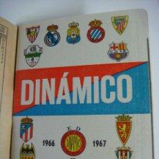 Coleccionismo deportivo: LIBRILLO CALENDARIO DE FUTBOL DINAMICO TEMPORADA-1966-1967. Lote 176514089