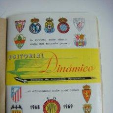 Coleccionismo deportivo: LIBRILLO CALENDARIO DE FUTBOL DINAMICO TEMPORADA-1968-1969. Lote 176514559