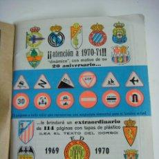 Coleccionismo deportivo: LIBRILLO CALENDARIO DE FUTBOL DINAMICO TEMPORADA-1969-1970. Lote 176514879