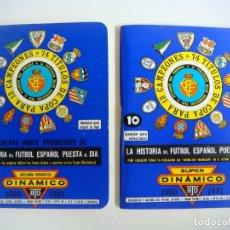 Coleccionismo deportivo: FUTBOL 2 LIBRILLO SUPER DINAMICO Y EL SUPLEMENTO Nº-10 TEMPORADA 1980-1981. Lote 176700773