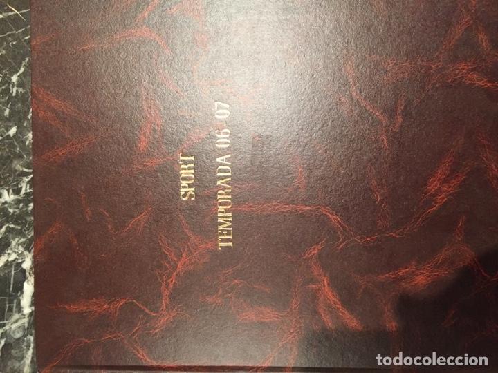 TOMO PORTADAS SPORT TEMPORADA 06-07 (Coleccionismo Deportivo - Libros de Fútbol)