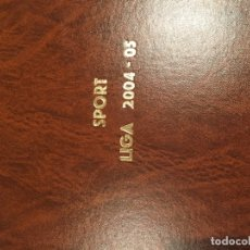 Coleccionismo deportivo: TOMO PORTADAS SPORT TEMPORADA 04-05. Lote 176971853