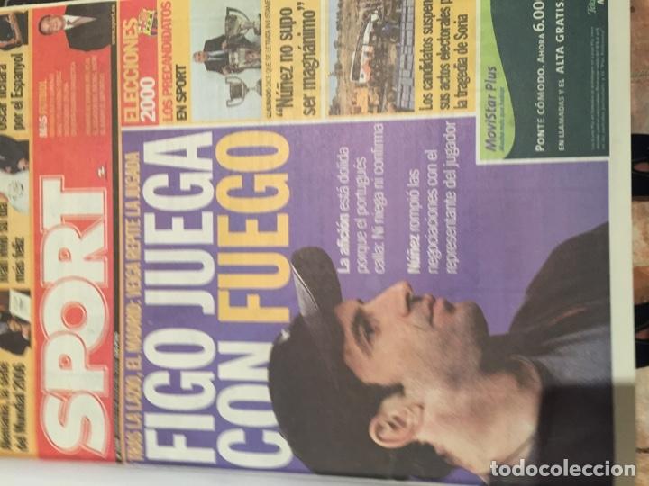 Coleccionismo deportivo: Tomo portadas Sport temporada 00-01 - Foto 2 - 176972068