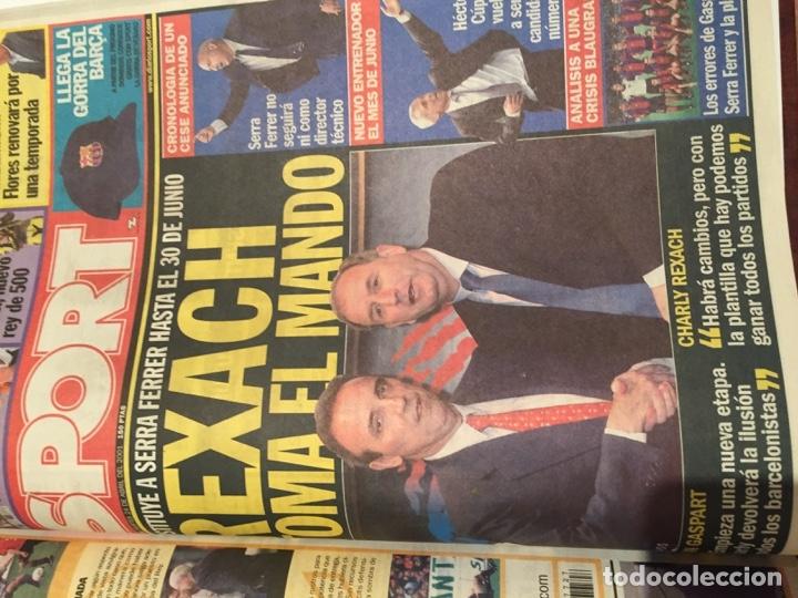 Coleccionismo deportivo: Tomo portadas Sport temporada 00-01 - Foto 4 - 176972068
