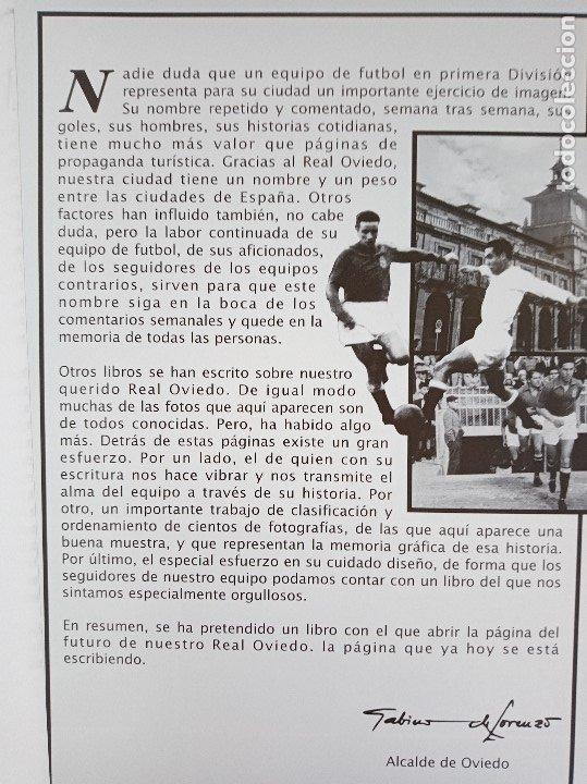 Coleccionismo deportivo: El Real Oviedo su historia, José Luis García Ordoñez. 2076 gramos. - Foto 6 - 118996547