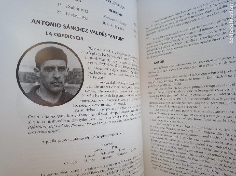 Coleccionismo deportivo: El Real Oviedo su historia, José Luis García Ordoñez. 2076 gramos. - Foto 7 - 118996547