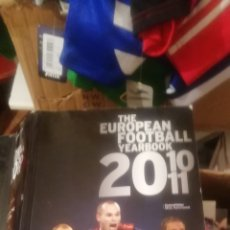 Coleccionismo deportivo: ANUARIO FÚTBOL EUROPEO 2010- 2011. THE EUROPEAN YEARBOOK.. Lote 177082240