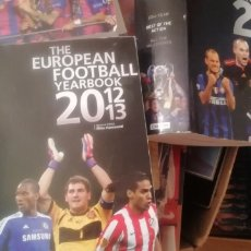 Coleccionismo deportivo: ANUARIO FÚTBOL EUROPEO 2012 - 2013. THE EUROPEAN YEARBOOK.. Lote 177082288