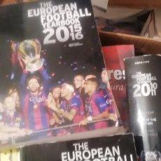 Coleccionismo deportivo: ANUARIO FÚTBOL EUROPEO 2015 - 2016. THE EUROPEAN YEARBOOK.. Lote 177082304