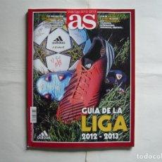 Coleccionismo deportivo: GUIA LIGA AS 2012-13. Lote 177117133