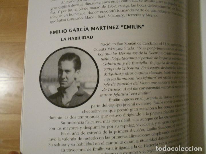 Coleccionismo deportivo: EL REAL OVIEDO: SU HISTORIA. JOSE LUIS GARCIA ORDOÑEZ. AYUNTAMIENTO DE OVIEDO 1996. FUTBOL. IMPRESIO - Foto 4 - 177432869