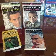 Coleccionismo deportivo: COLECCIÓN LIBROS DE FÚTBOL AÑOS 90. ENTRENADORES.. Lote 177690695