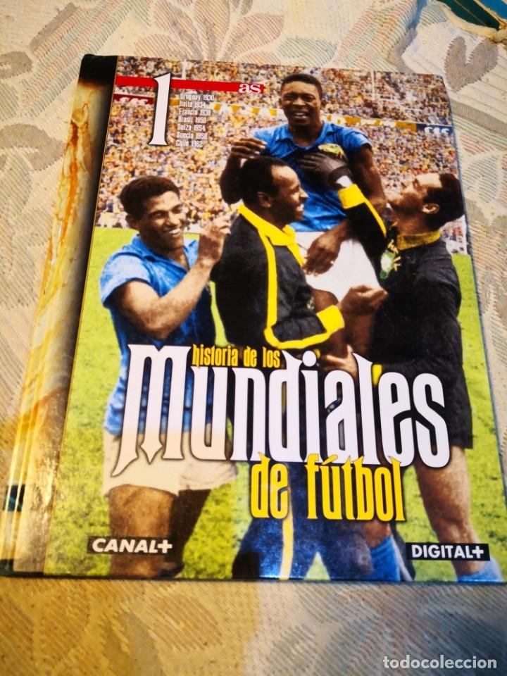 AS -HISTORIA DE LOS MUNDIALES DE FÚTBOL URUGUAY ITALIA FRANCIA BRASIL SUECIA SUIZA CHILE ENVÍO 6,99 (Coleccionismo Deportivo - Libros de Fútbol)
