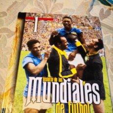 Coleccionismo deportivo: AS -HISTORIA DE LOS MUNDIALES DE FÚTBOL URUGUAY ITALIA FRANCIA BRASIL SUECIA SUIZA CHILE ENVÍO 6,99. Lote 177949738