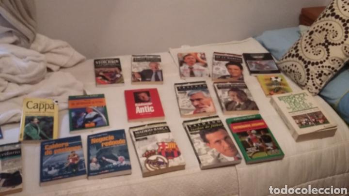 LIBROS FÚTBOL AÑOS 90. EXCELENTE LOTE DE 15. (Coleccionismo Deportivo - Libros de Fútbol)