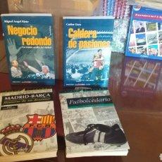 Coleccionismo deportivo: LIBROS DE FÚTBOL. AÑOS 90. LOTE INTERESANTE.. Lote 178244772