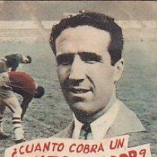 Coleccionismo deportivo: LIBRITO COLECCION EDITORIAL DEPORTIVA FHER CUENTO COBRA UN ENTRENADOR . Lote 178791927