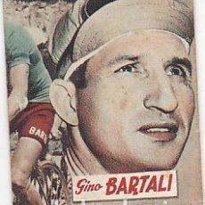 Coleccionismo deportivo: LIBRITO COLECCION EDITORIAL DEPORTIVA FHER CICLISTA GINO BARTALI. Lote 178792037