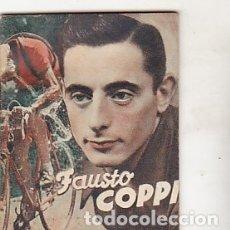 Coleccionismo deportivo: LIBRITO COLECCION EDITORIAL DEPORTIVA FHER CICLISTA FAUSTO COPPI. Lote 178792256