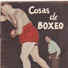 Coleccionismo deportivo: LIBRITO COLECCION EDITORIAL DEPORTIVA FHER COSAS DE BOXEO. Lote 178792481