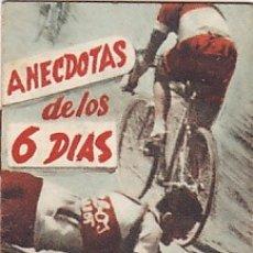 Coleccionismo deportivo: LIBRITO COLECCION EDITORIAL DEPORTIVA FHER ANECDOTAS DE LOS 6 DIAS . Lote 178792538