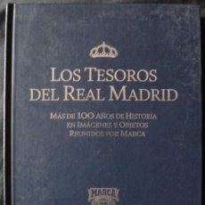 Coleccionismo deportivo: LOS TESOROS DEL REAL MADRID - MARCA 70 AÑOS - VACIO -. Lote 178874713