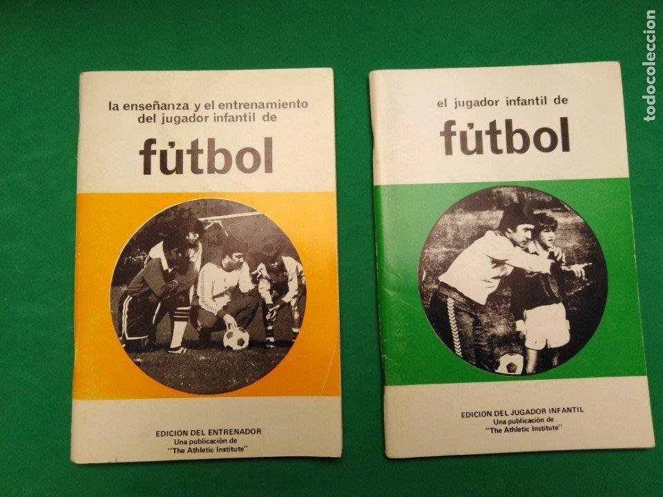LOTE LIBROS FUTBOL (Coleccionismo Deportivo - Libros de Fútbol)