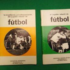 Coleccionismo deportivo: LOTE LIBROS FUTBOL. Lote 178992420
