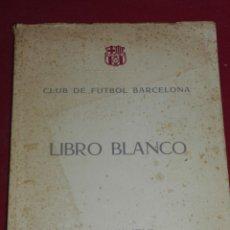 Coleccionismo deportivo: FC BARCELONA - CF BARCELONA LIBRO BLANCO EJERCICIO 1959 - 1960, 120 PAG, RÚSTICA. Lote 179314730