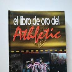 Coleccionismo deportivo: EL LIBRO DE ORO DEL ATHLETIC, EL CORREO, AÑO 1996, 215 PAGINAS, TAPA DURA - COMPLETO -. Lote 179319952