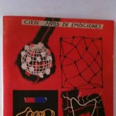Coleccionismo deportivo: LIBRO CIEN AÑOS DE EMOCIONES MUNDO DEPORTIVO 1906 - 2006 MIDE 35CM X 29CM X 1CM. Lote 179556940
