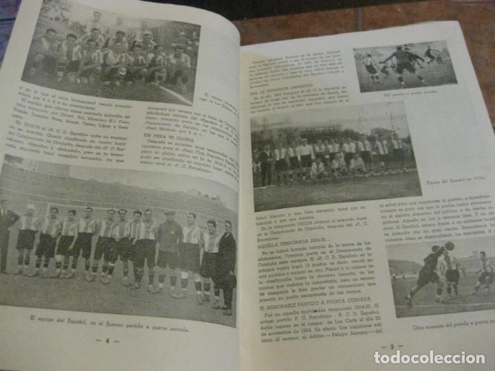 Coleccionismo deportivo: rcd real club deportivo español e. carballo su vida su historia sus triunfos futbol 1900-1941 - Foto 6 - 180081748