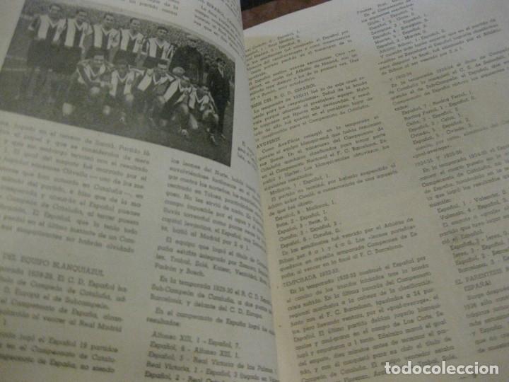 Coleccionismo deportivo: rcd real club deportivo español e. carballo su vida su historia sus triunfos futbol 1900-1941 - Foto 7 - 180081748