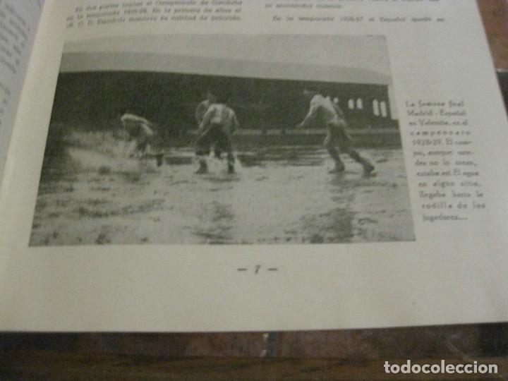 Coleccionismo deportivo: rcd real club deportivo español e. carballo su vida su historia sus triunfos futbol 1900-1941 - Foto 8 - 180081748