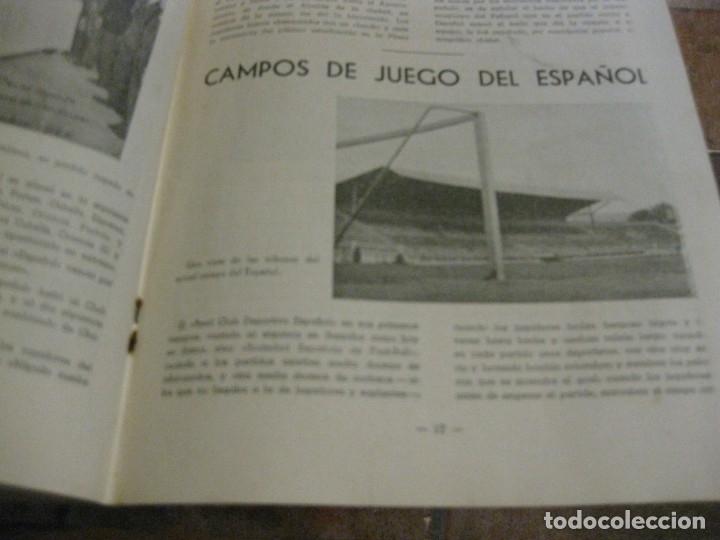 Coleccionismo deportivo: rcd real club deportivo español e. carballo su vida su historia sus triunfos futbol 1900-1941 - Foto 9 - 180081748