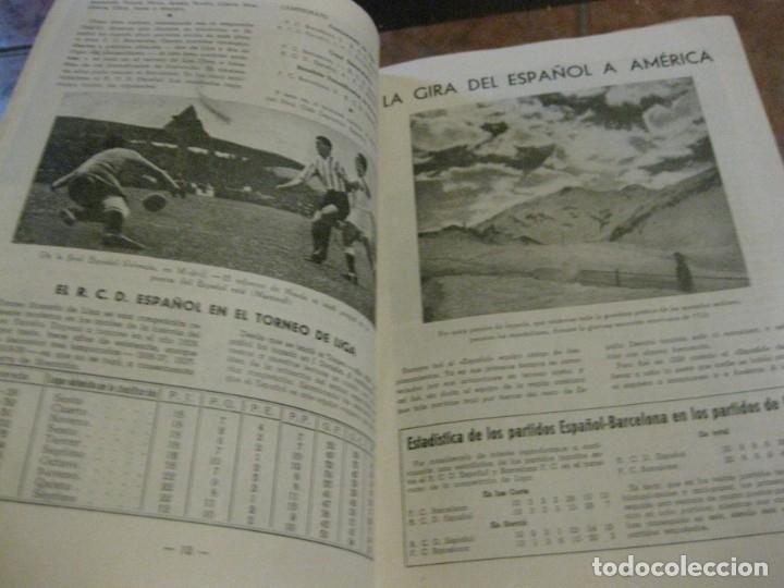 Coleccionismo deportivo: rcd real club deportivo español e. carballo su vida su historia sus triunfos futbol 1900-1941 - Foto 11 - 180081748