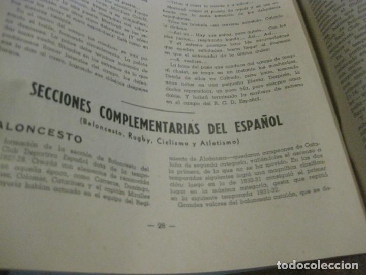 Coleccionismo deportivo: rcd real club deportivo español e. carballo su vida su historia sus triunfos futbol 1900-1941 - Foto 12 - 180081748