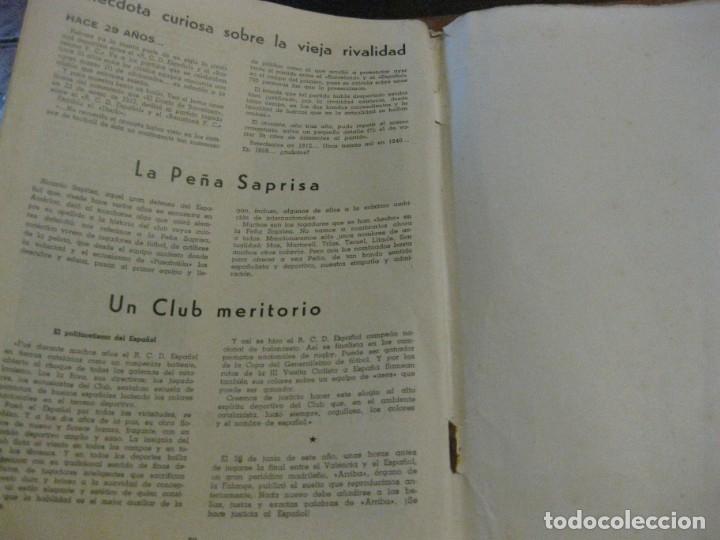 Coleccionismo deportivo: rcd real club deportivo español e. carballo su vida su historia sus triunfos futbol 1900-1941 - Foto 13 - 180081748