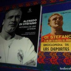 Coleccionismo deportivo: REAL MADRID ENCICLOPEDIA DE LOS DEPORTES 11 DI STEFANO. ARPEM 1958. REGALO HISTORIAS DE UNA LEYENDA.. Lote 180188988